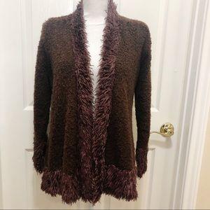Pretty Angel Fashion Brown Cardigan Sweater  F123